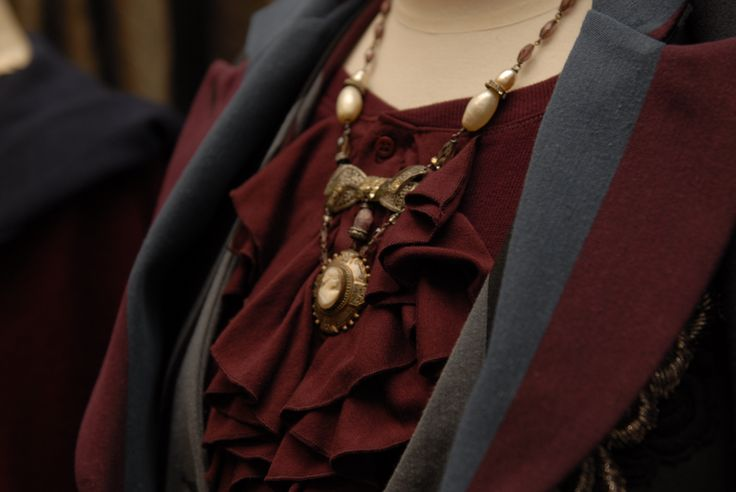 Madame Bovary Cameo necklace available in store at Trelise Cooper Wellington