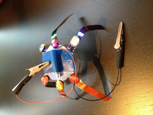 how to make a robot for a science fair project