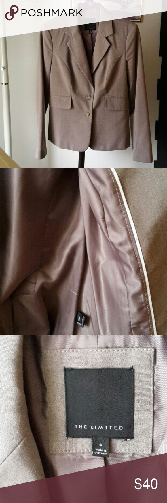 THE LIMITED BLAZER NWOT! Great addition to your career wear wardrobe. Back vents still sewn shut. Lovely. The Limited  Jackets & Coats Blazers