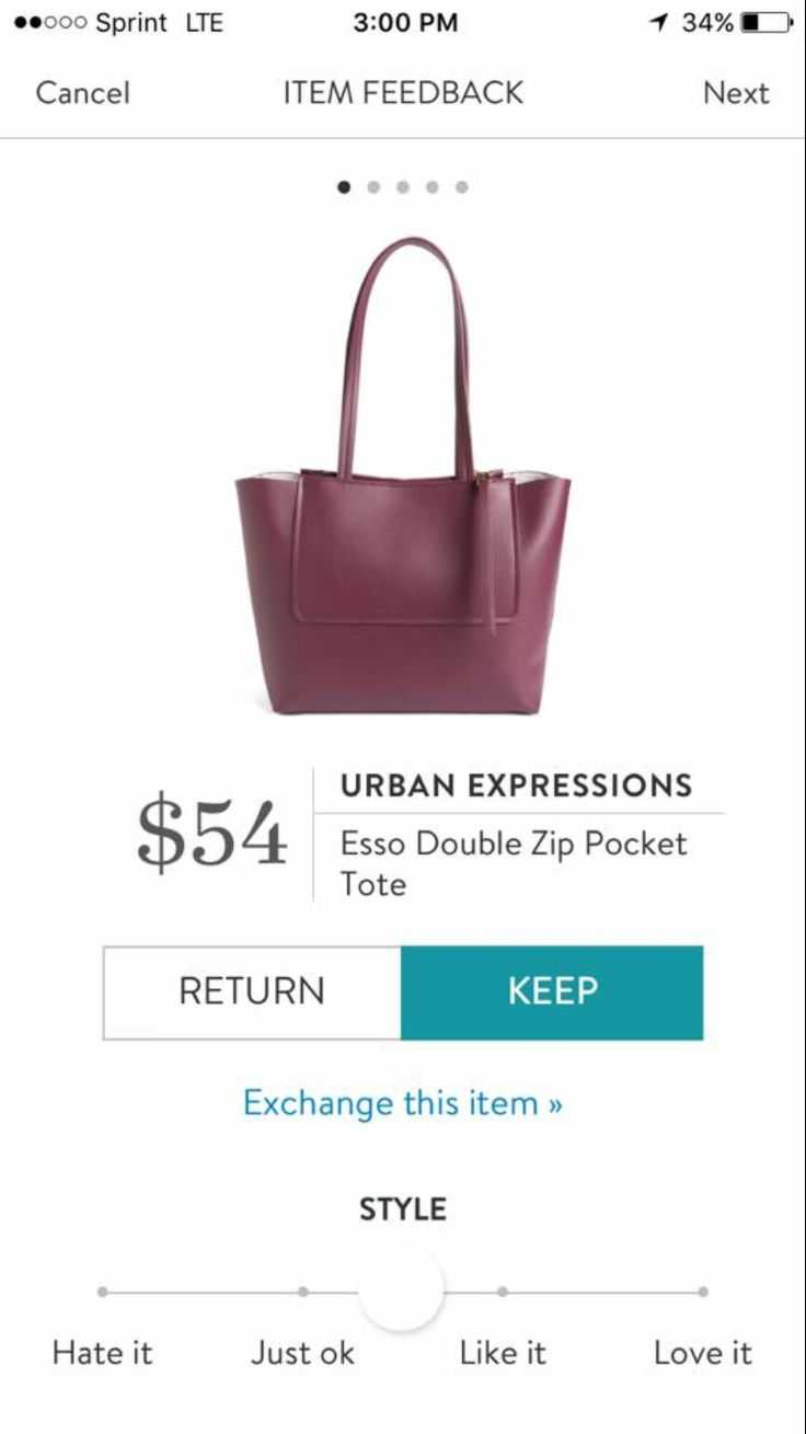 Dear stylist, I'd love a tote like this is my next Fix (no black or cognac). Thanks! Melissa