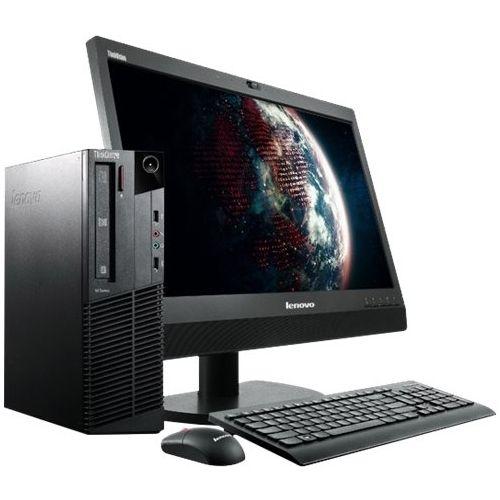 Lenovo - Refurbished Desktop - Intel Core i5 - 8GB Memory - 500GB Hard Drive - Black