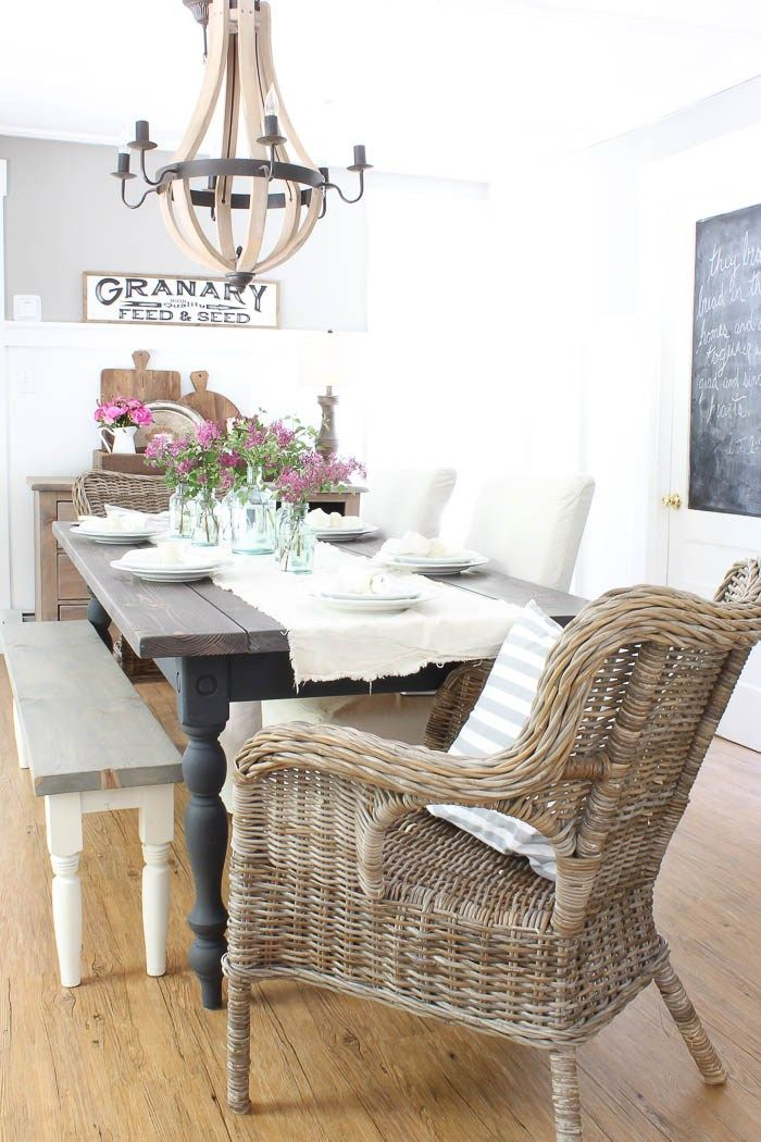 Celebrate Summer Home Tour | Rooms FOR Rent Blog 3443 · Fine DiningFarmhouse  StyleFrench ...