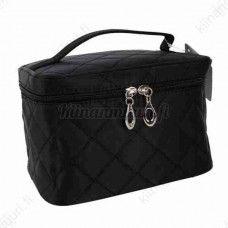 Musta meikkilaukku