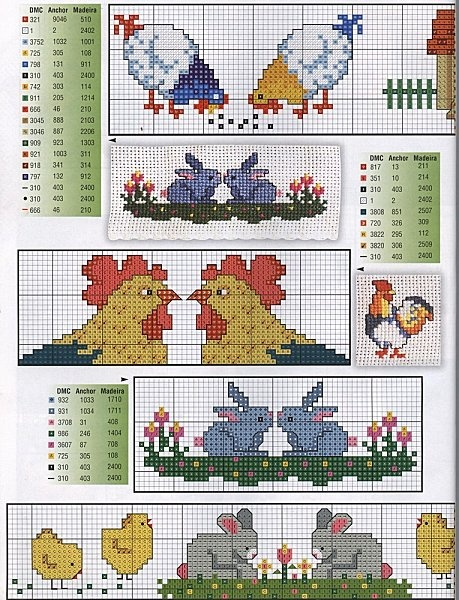 Easter is coming soon! Start stitching with this free patterns!
