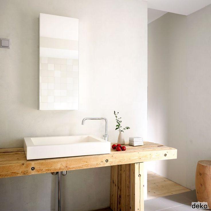 Wooden DIY furniture for Bathroom | Scandinavian Deko