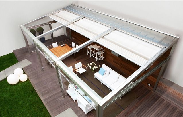 Retractable Roofs - #WindowsWest #OutdoorDesign