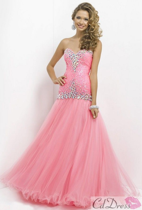 63 best Pink Prom Dress images on Pinterest   Ballroom dress, Cute ...