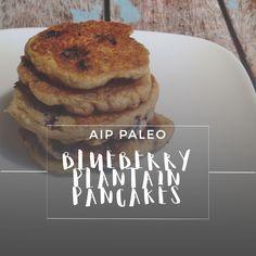 Blueberry Plantain Pancakes   Enjoying this Journey...