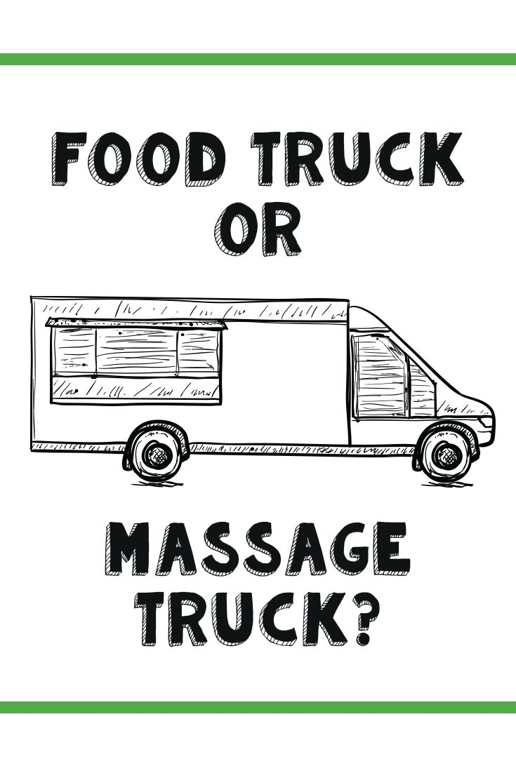 Like the food truck trend takes food mobile, the massage-truck industry brings healthy touch to festivals, neighborhoods, rodeos and everything in-between.