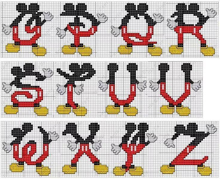 monograma Mickey 2