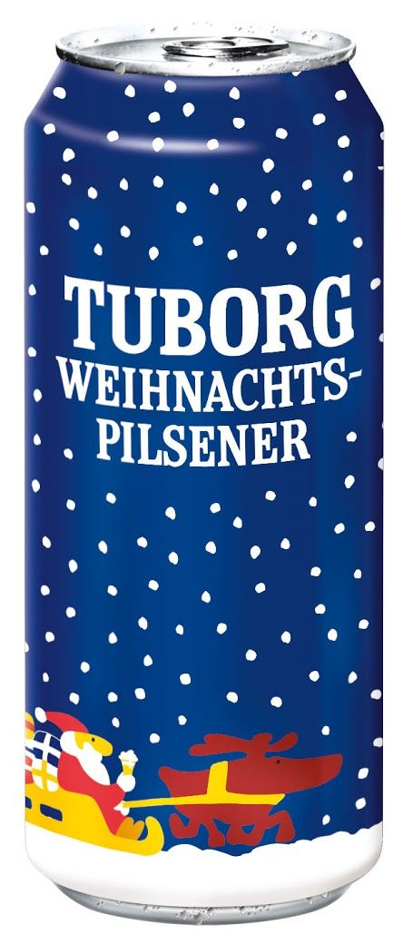 Tuborg Pilsner Limited Edition Christmas Can on Packaging of the World - Creative Package Design Gallery