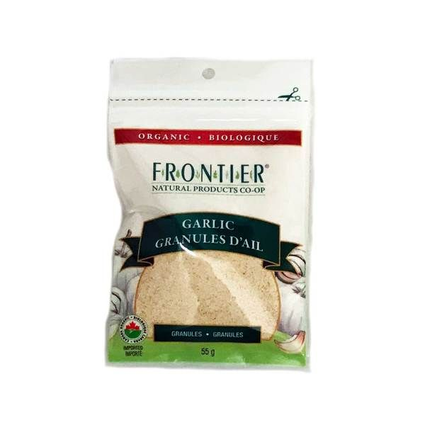 Frontier Organic Garlic Granules - 55g