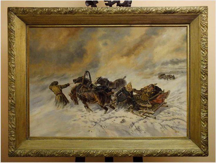 RUSSIAN TROJKA - VAELTL OTTO (1885-1977)