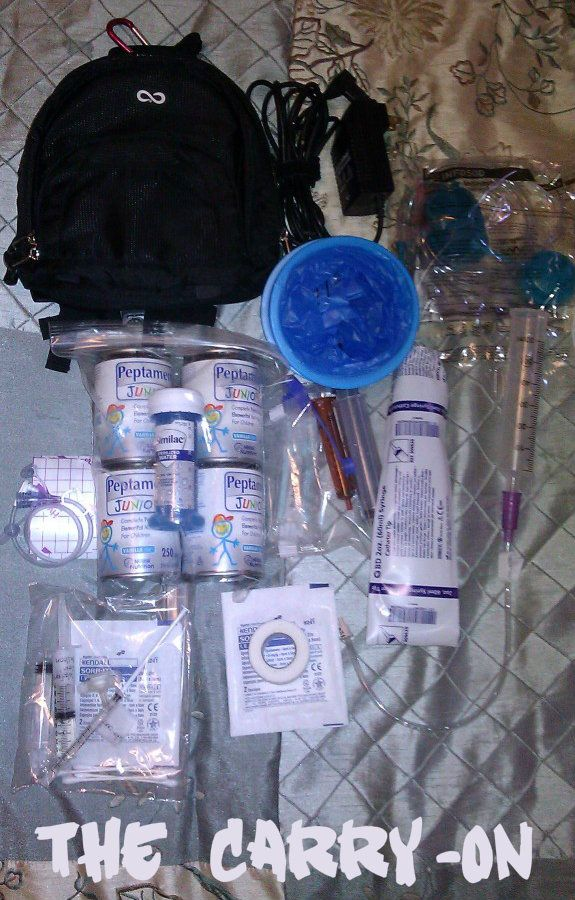 Traveling with a Tubie, what to pack :)
