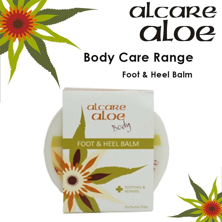 Foot & Heel Balm. A perfect combination of Aloe ferox extract, camphor and tea tree oil. Specially formulated to provide soothing relief from cracked heels. Moisturizes and softens rough skin.  Order online: http://on.fb.me/1fJVdeb  #heel #bam #feet