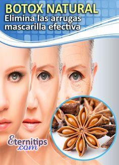 Botox natural: mascarilla antiarrugas con anis estrella. Rostro lozano