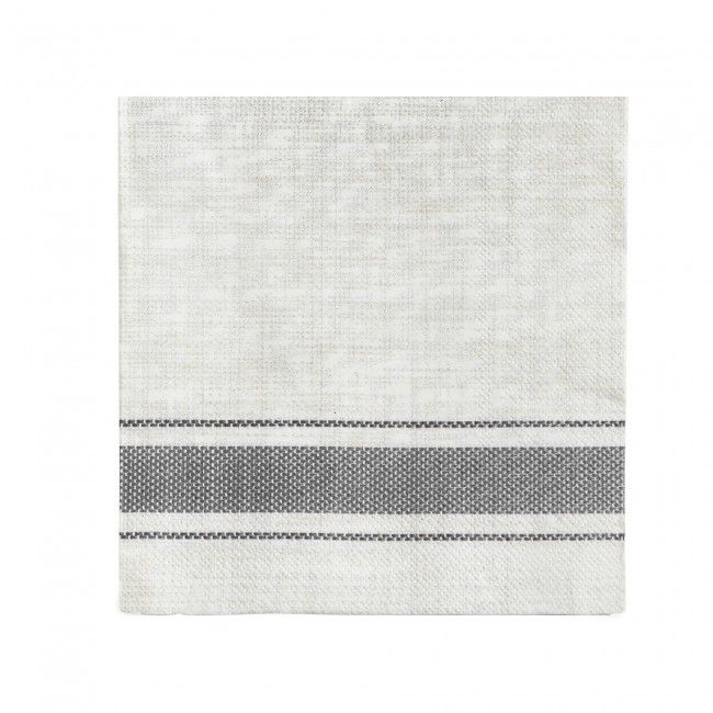 The look of cotton, the convenience of paper. Harman Bistro Stripe Paper Napkins are a great way to entertain with style and clean up with simplicity.