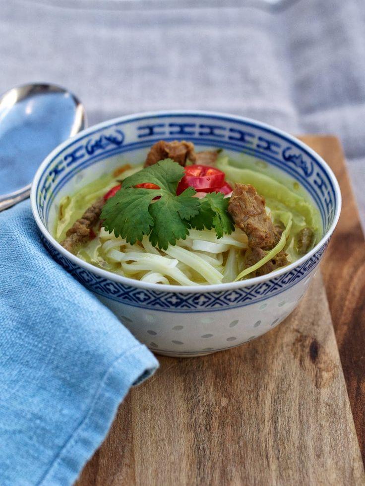 [kjøkkentjeneste]: Suppe med lam og asiatiske smaker