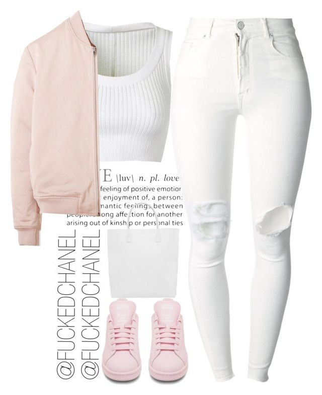 """""""█ █"""" by fuckedchanel ❤ liked on Polyvore"""