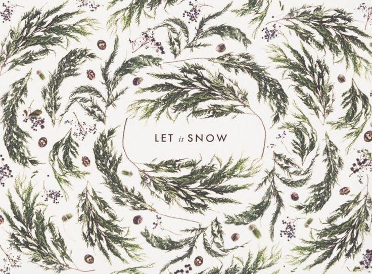 Great winter print idea