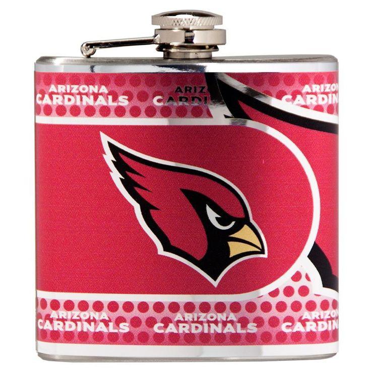 Arizona Cardinals Flask Stainless Steel Drink Bottle