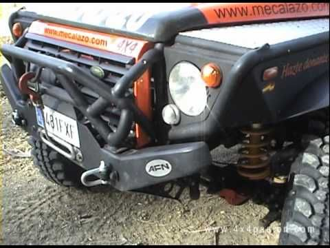 Land Rover Defender 4x4 Offroad Tuning - YouTube