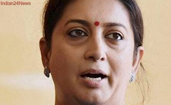 Rahul Gandhi's comments against PM Modi reflect his worry: Smriti Irani