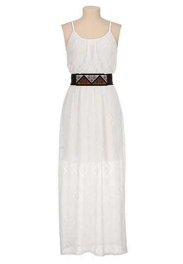 Black and white maxi dress maurices
