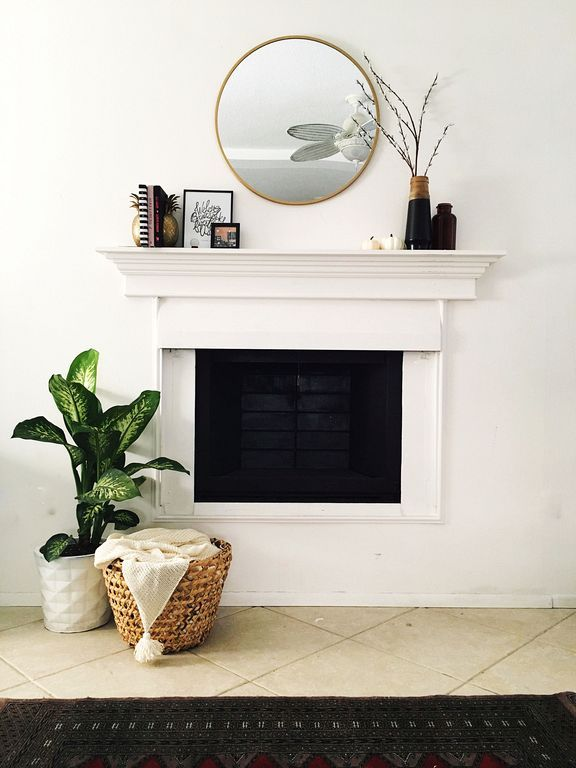 20 Round Mirror Over Fireplace Ideas You Can Try At Your Home Fireplace Mirror Above Fireplace Decor Mirror Over Fireplace