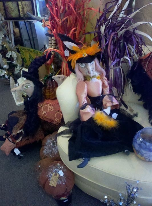 Spooky witches | Kathy's Holiday Fall / Halloween | Pinterest