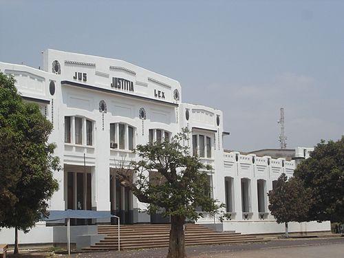 Palace of Justice, Lubumbashi