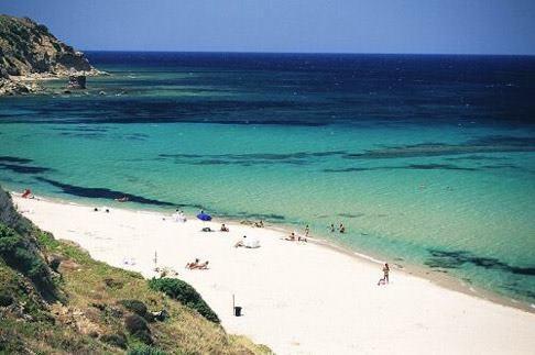 porto paglia,gonnesa..white sands turquoise water wonderful golf shinning days perfect tan..beautiful!!