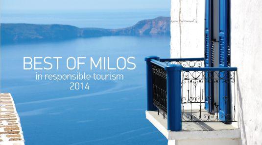 Best of Milos in Responsible Tourism 2014