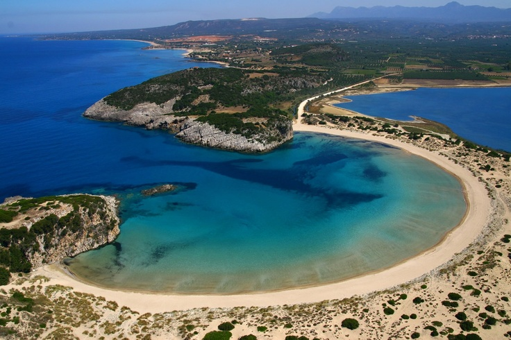 Η παραλία της Βοϊδοκοιλιάς βρίσκεται στην δυτική ακτή της Μεσσηνίας, ανάμεσα στην Πύλο και την Κυπαρισσία. Φωτογραφία που ανέβασε ο Γρηγόρης Ζωντανός στο www.skaikairos.gr.