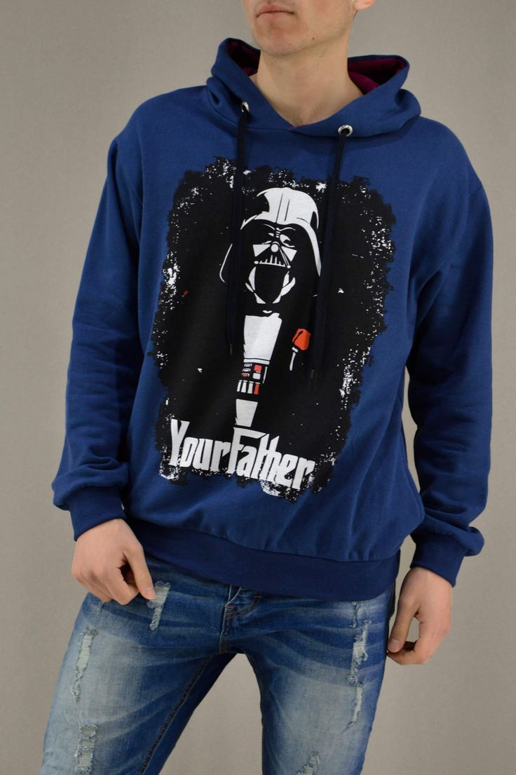 Ανδρικό φούτερ Υour Father FOUT-1217-bl | Φούτερ > Sport &