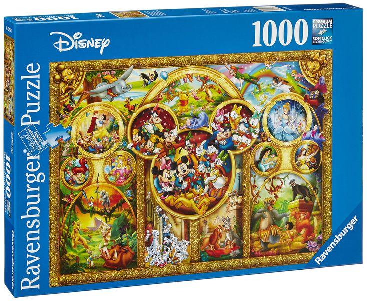 Amazon.com: Ravensburger The Best Disney Themes 1000 Piece Jigsaw Puzzle: Toys & Games