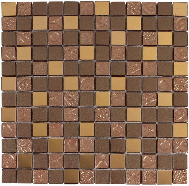 #Aparici #Mosaico #Egypt Brown 30x30 cm   Feinsteinzeug   im Angebot auf #bad39.de 489 Euro/qm   #Mosaik #Bad #Küche