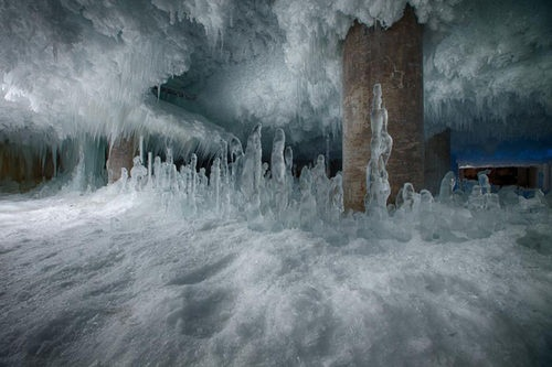 """""""Wild Pre-Thaw Captures of Fulton Market Cold Storage"""" from Curbed Chicago"""