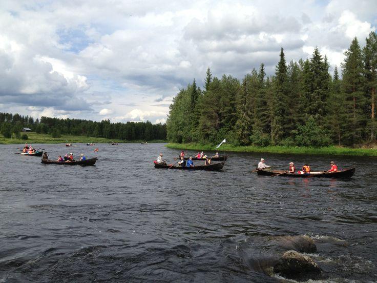 hirvipirtit lapland cabins, Taivalkoski Finland, Iijokisoutu rowing event