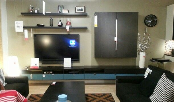 ikea ideas for entertainment center. Black Bedroom Furniture Sets. Home Design Ideas