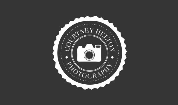Courtney Helton Photography Logo by Stephanie Bullock, via Behance