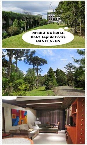 Hospedagem romântica ou familiar. Laje de Pedra Mountain, em Canela. Serra Gaúcha - RS.