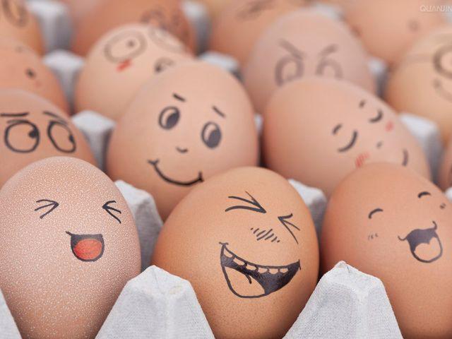 de huevos con caritas - Buscar con Google