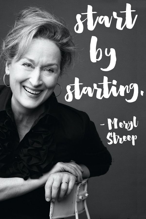 A wise woman, that Meryl. Don't you just want to hug her every time you see her? In my head we are super good friends who are totally cool and sit around reading books and sipping whiskey. She seems like the sort of bad-ass who drinks straight up whiskey, amiright? Oh, and this reminds me, if you haven't […]