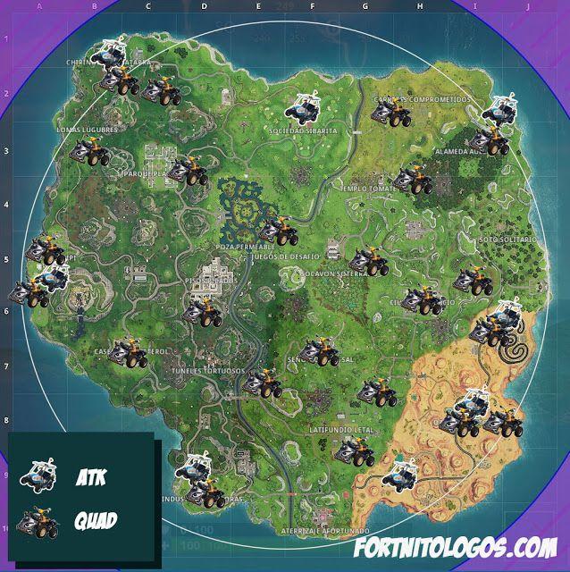 Mapa Fortnite Temporada 5 Español.Tu Web De Fortnite En Espanol Mapa De Vehiculos De