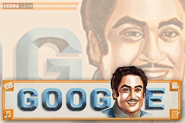 Google doodles Kishore Kumar's versatility Google's latest doodle is dedicated to legendary Indian singer Kishore Kumar on his 85th birth anniversary. The doodle salutes Kumar's many talents including playback singing, acting, composing music and movie direction.