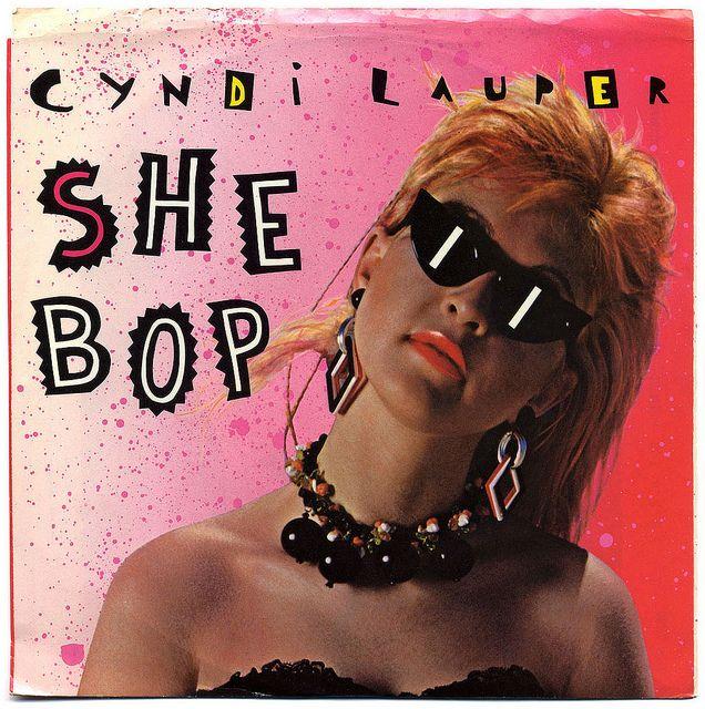 She Bop b/w Witness,Cyndi Lauper, Portrait Records/USA (1984)