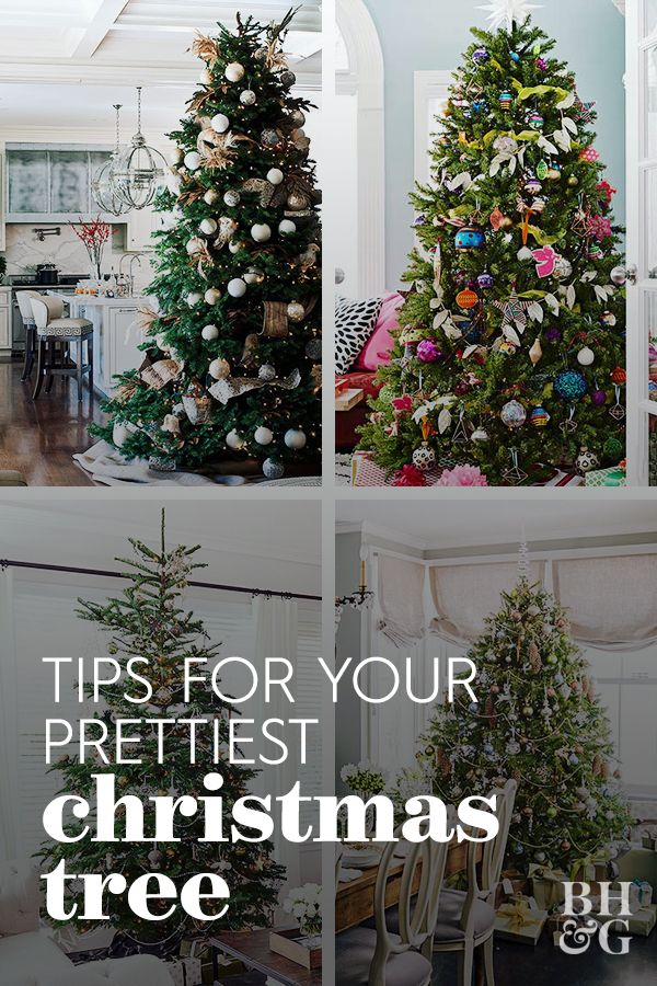 Tips For Prettier Christmas Trees Christmas Tree Decorating Tips Cool Christmas Trees Pretty Christmas Trees