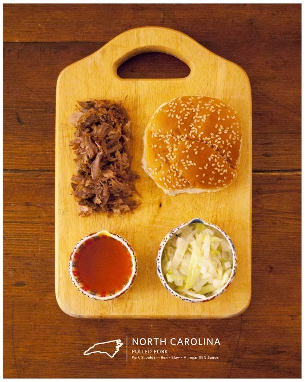 Los auténticos sandwiches americanos