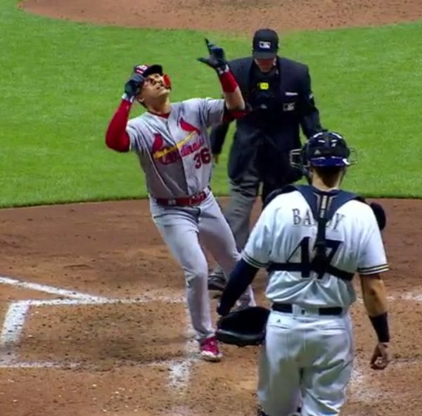 St. Louis Cardinals  vs.  Milwaukee Brewers – 4/22/2017 – Results